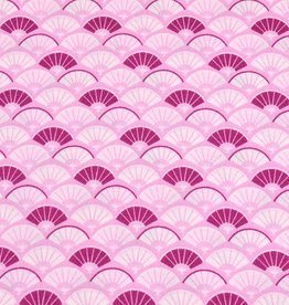50x150 cm cotton abstract light pink