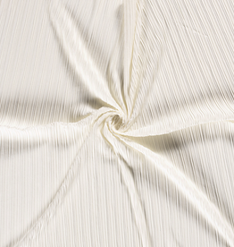 150x150 cm Jersey pleated offwhite