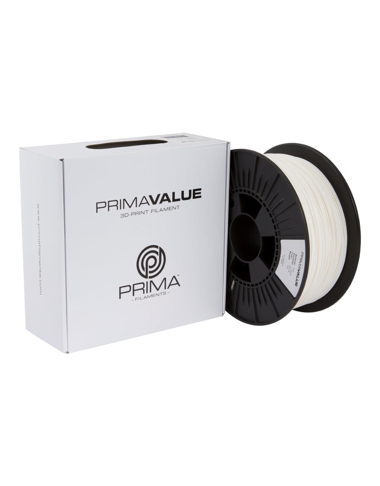 Prima PrimaValue PLA Filament wit