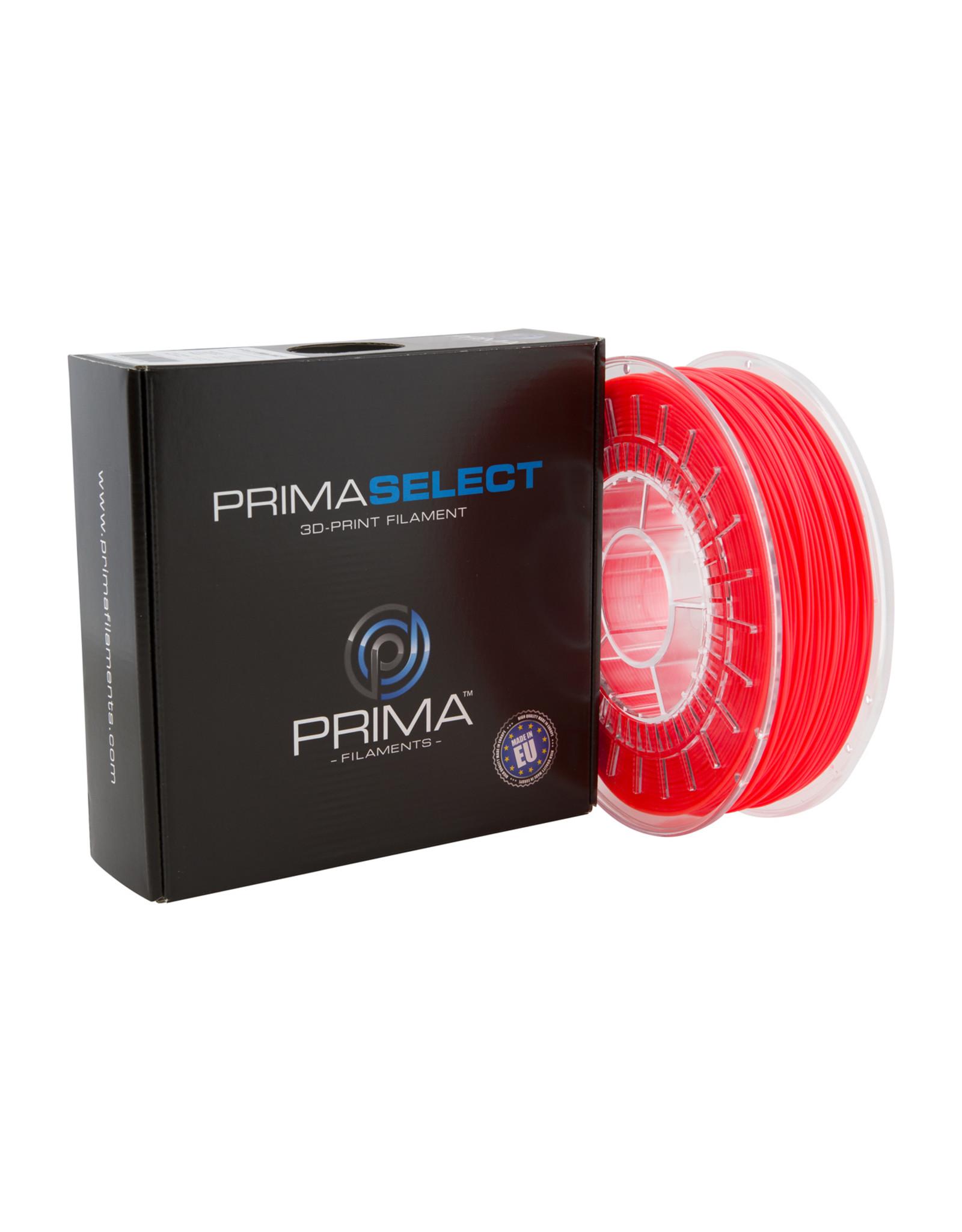 Prima PrimaSelect PLA 1.75mm - 750gr Neon Rood