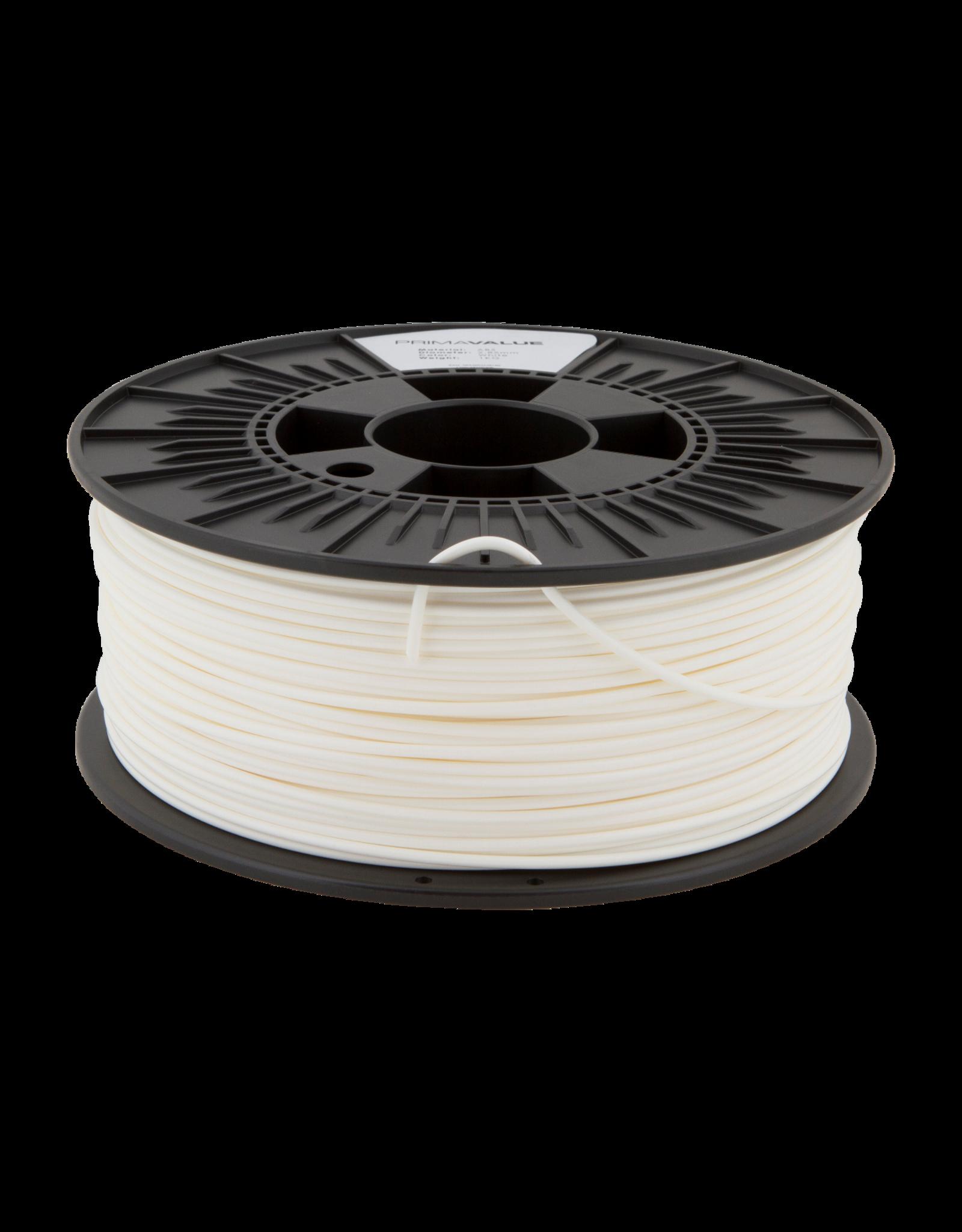Prima PrimaValue ABS Filament -2.85mm - 1 kg - White