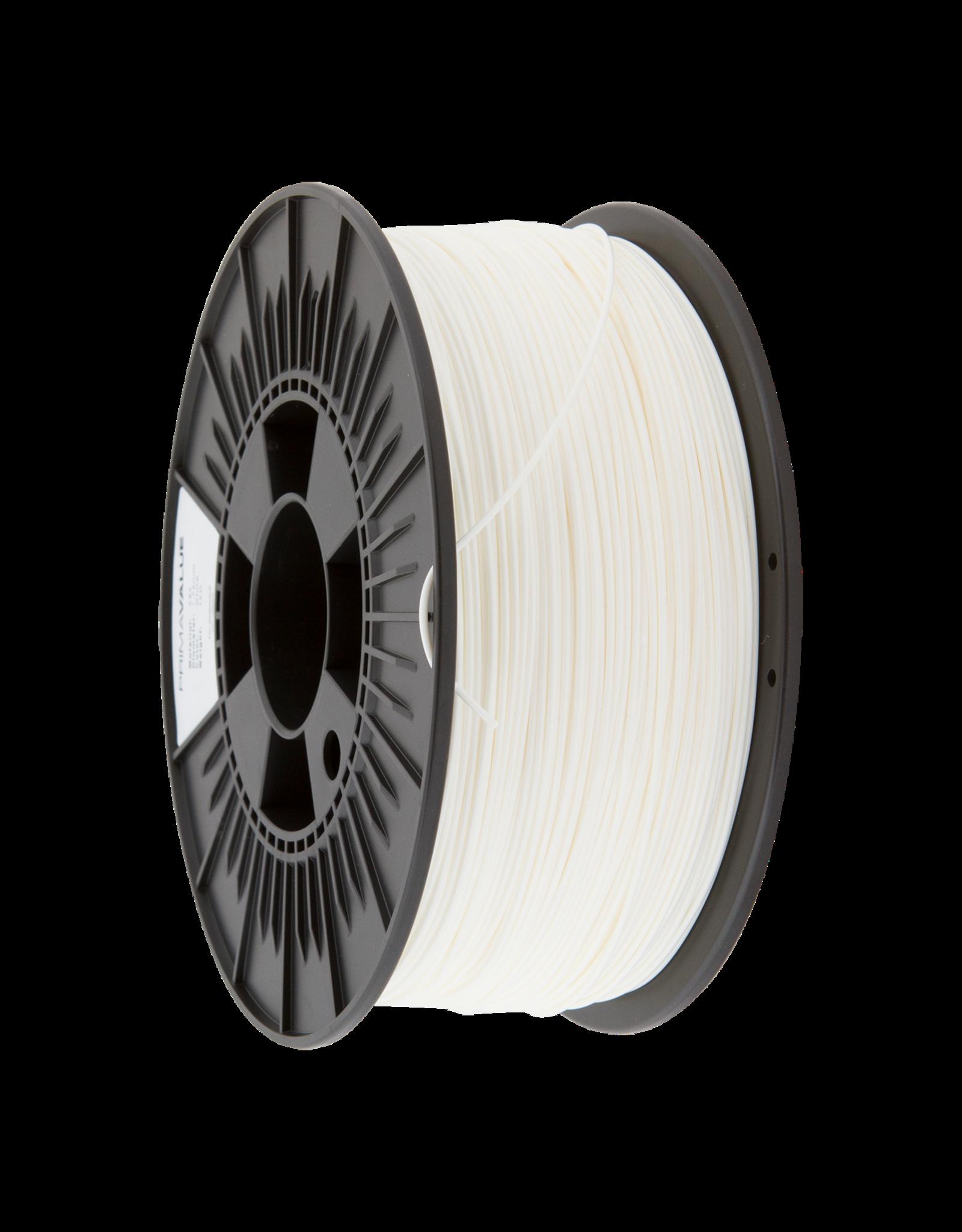 Prima PrimaValue ABS Filament - 1.75mm - 1 kg - Blanc