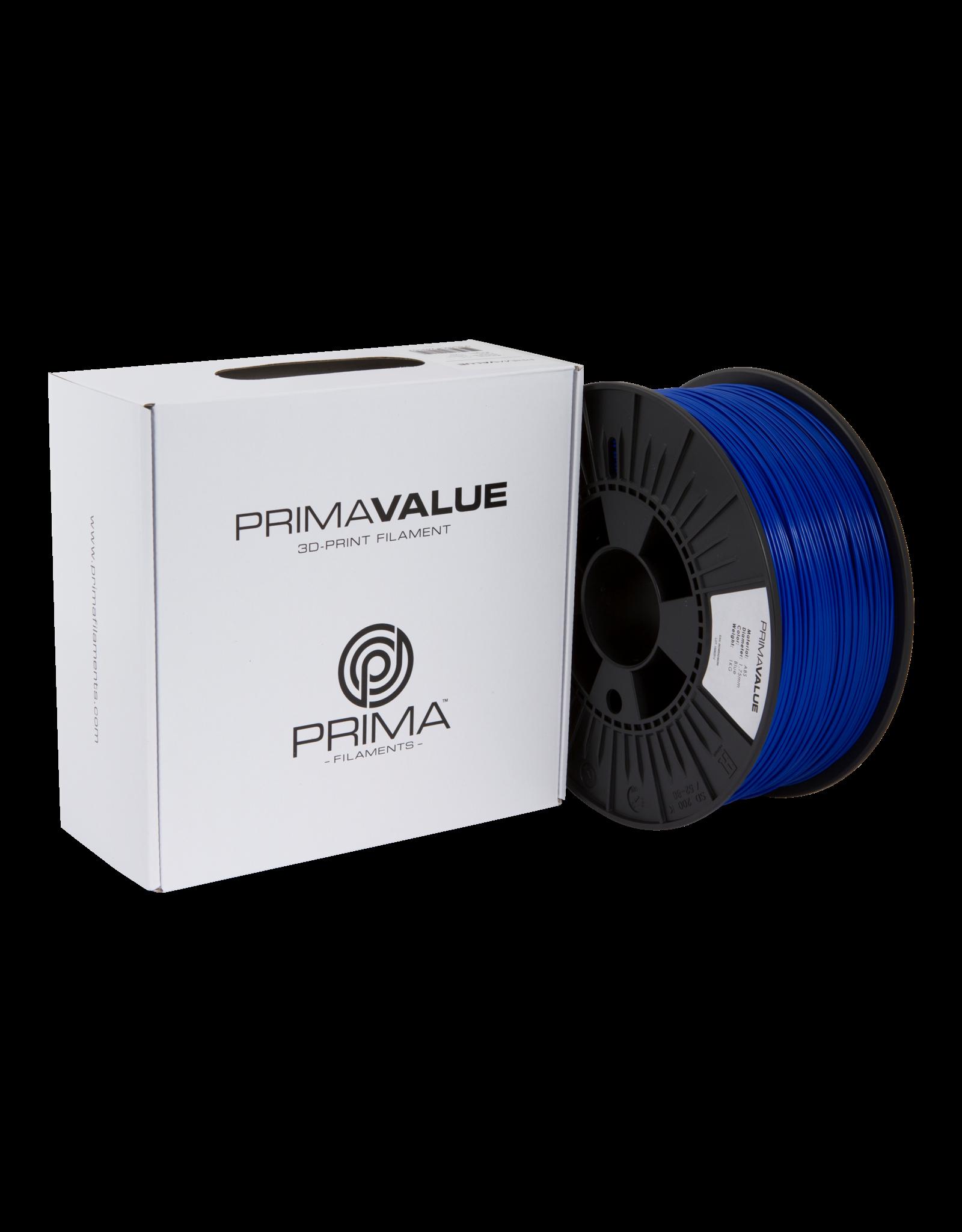 Prima PrimaValue ABS Filament - 1.75mm - 1 kg - Blue