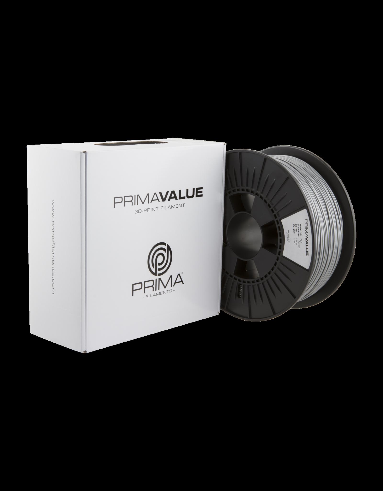 Prima PrimaValue PLA Filament 1.75mm 1 kg zilver