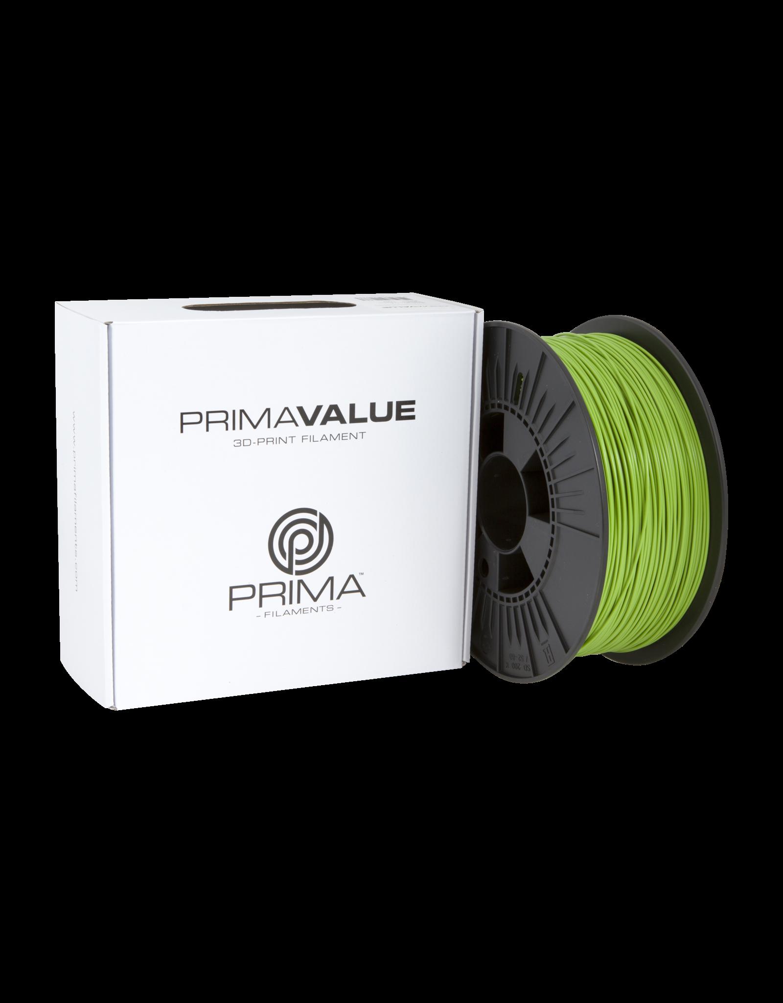 Prima PrimaValue PLA Filament 1.75mm 1 kg groen