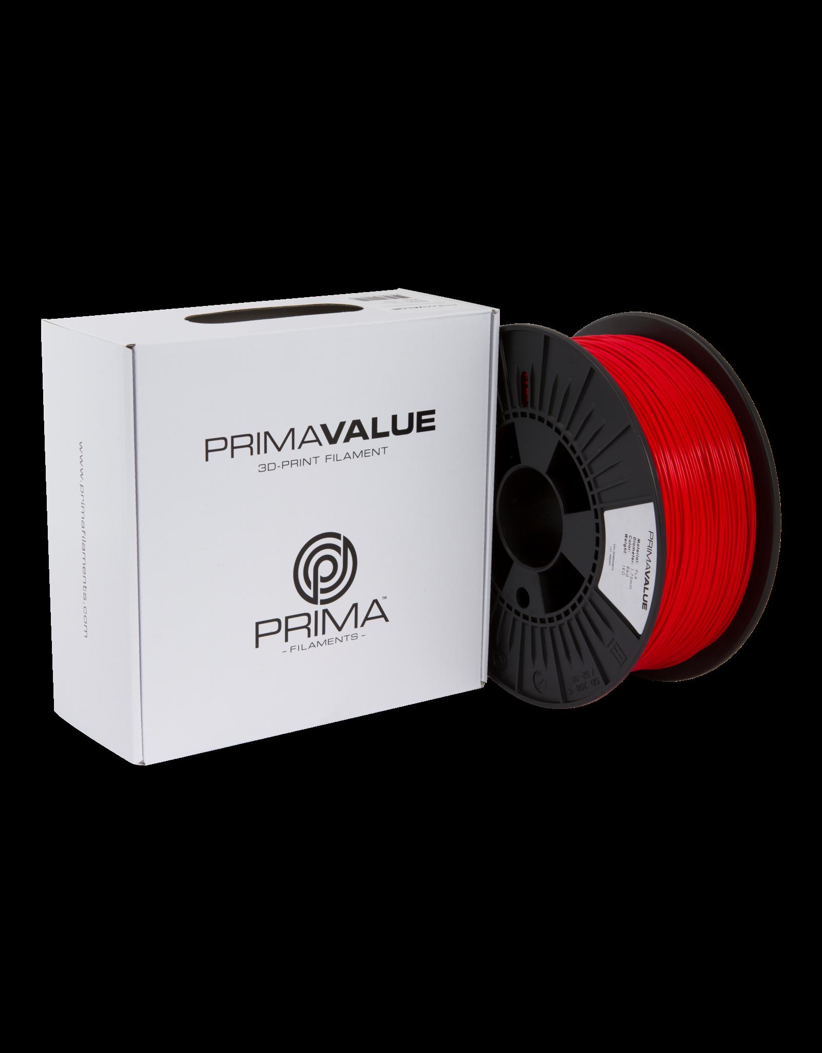 Prima PrimaValue PLA Filament rood 1.75mm 1 kg