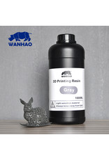 Wanhao Wanhao 3D-Printer UV Resin - 1000 ml - Grijs