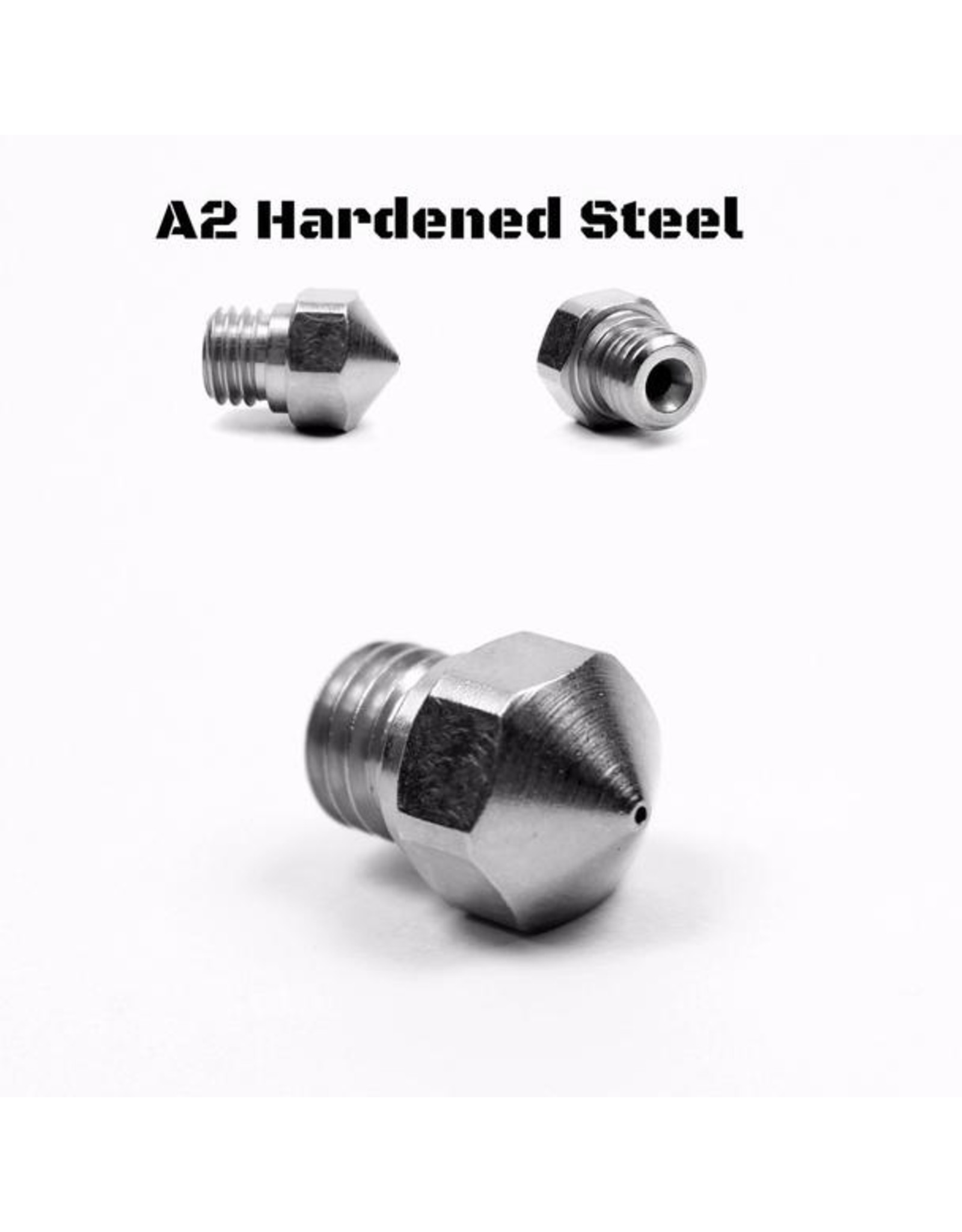 Micro Swiss Micro Swiss nozzle for MK10 All Metal Hotend Kit ONLY (Plated A2 Hardened Tool Steel)