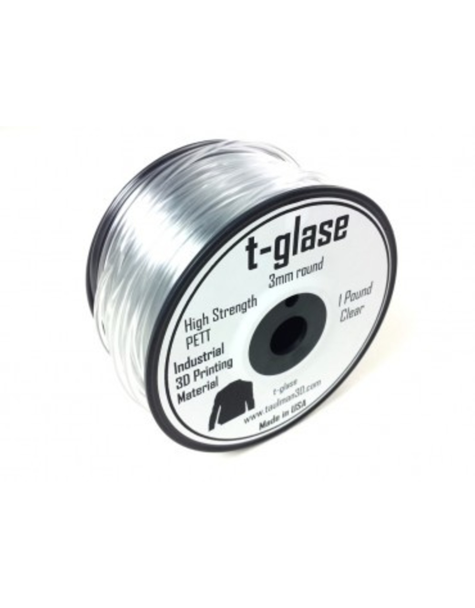 Taulman 3D Taulman t-glase PETT 1.75mm clear