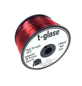 Taulman 3D Taulman t-glase PETT 1.75mm Red