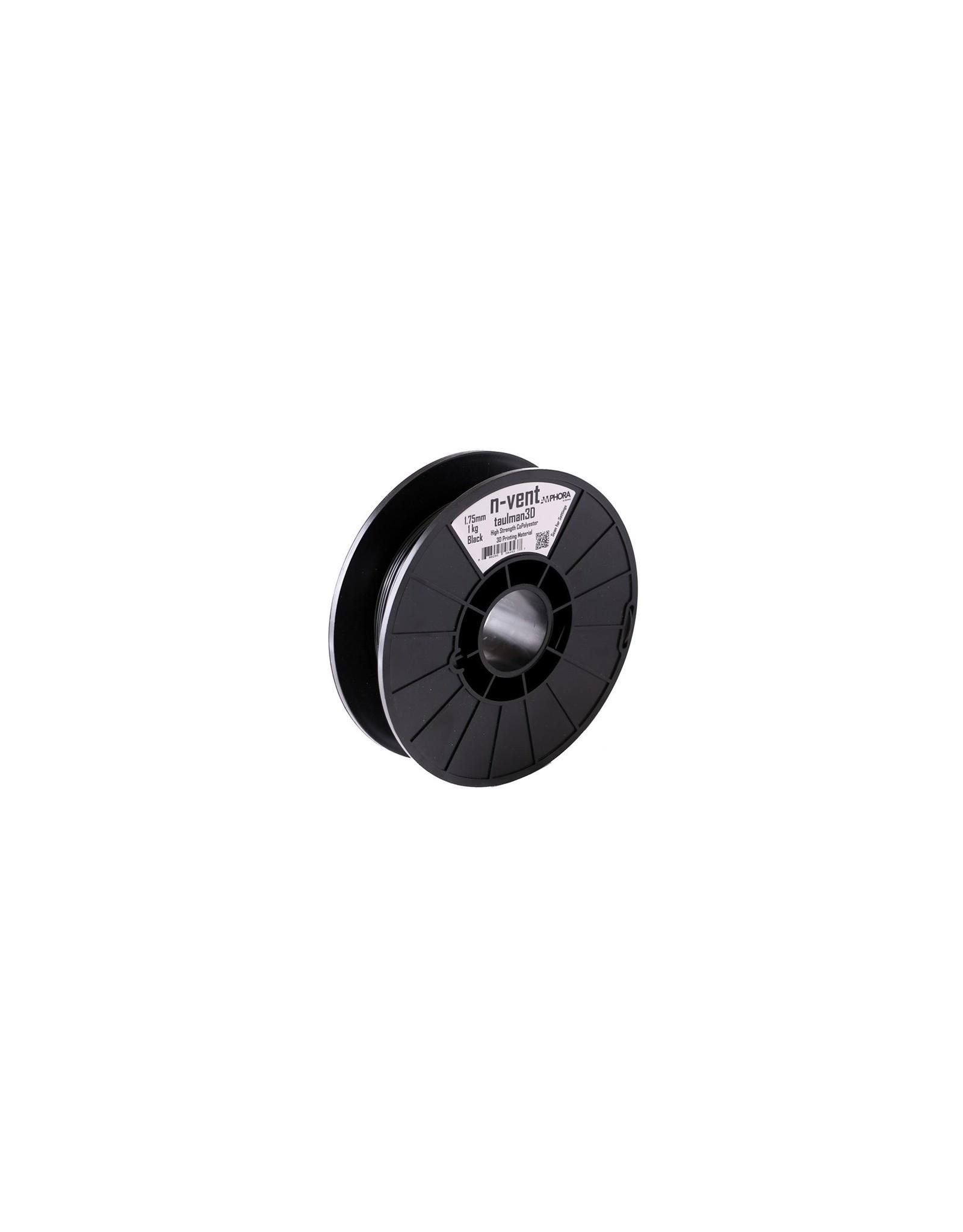 Taulman 3D Taulman N-Vent Zwart- 2,85mm - 450g