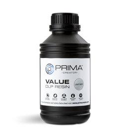 Prima PrimaCreator Value UV / DLP Resin- 1000 ml - gris clair