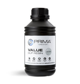 Prima PrimaCreator Value UV / DLP Resin- 1000 ml - light grey