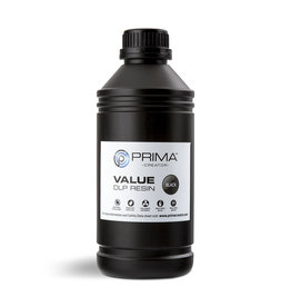 Prima PrimaCreator Value UV / DLP Resin- 1000 ml - Black