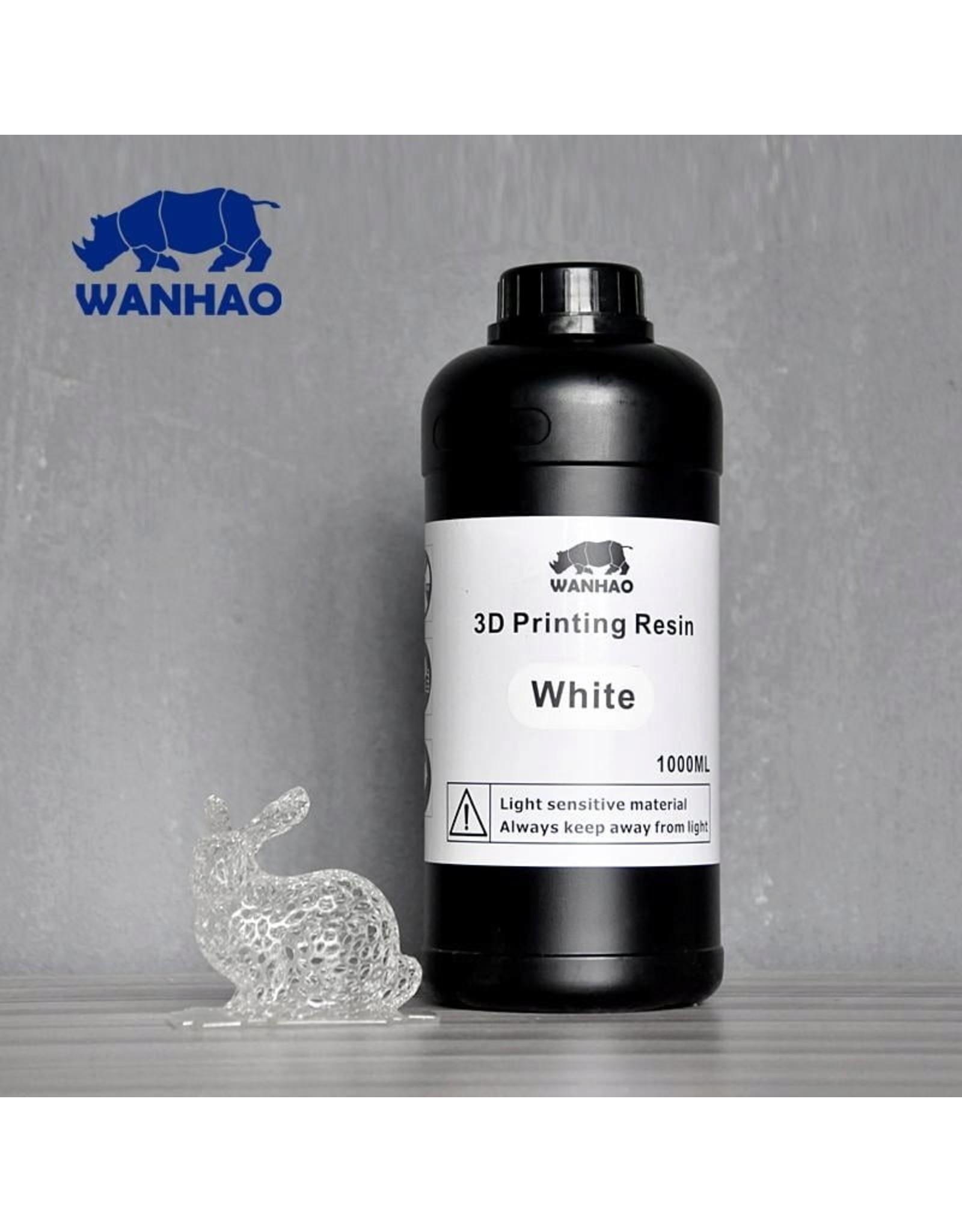 Wanhao Wanhao 3D-Printer UV Resin - 1000 ml - White
