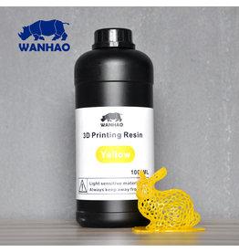 Wanhao Wanhao 3D-Printer UV Resin - 1000 ml - Jaune