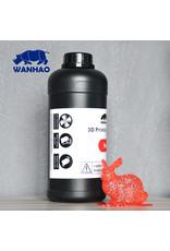 Wanhao Wanhao 3D-Printer UV Resin - 1000 ml -Rood