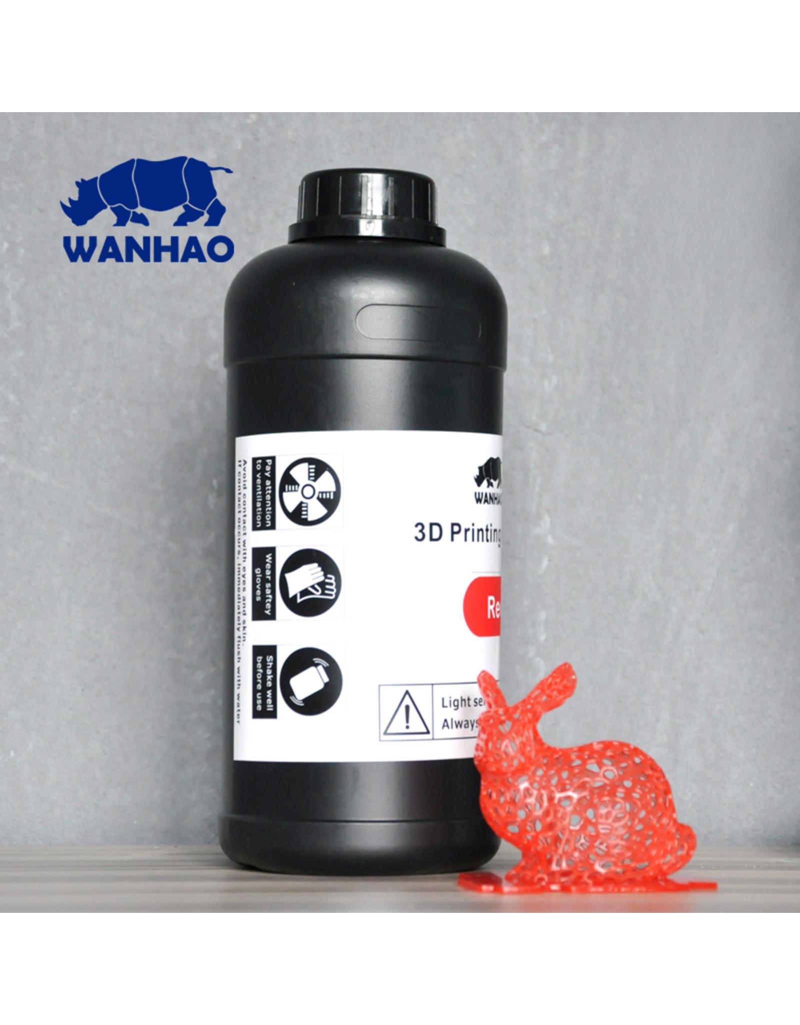 Wanhao Wanhao 3D-Printer UV Resin - 1000 ml -Red