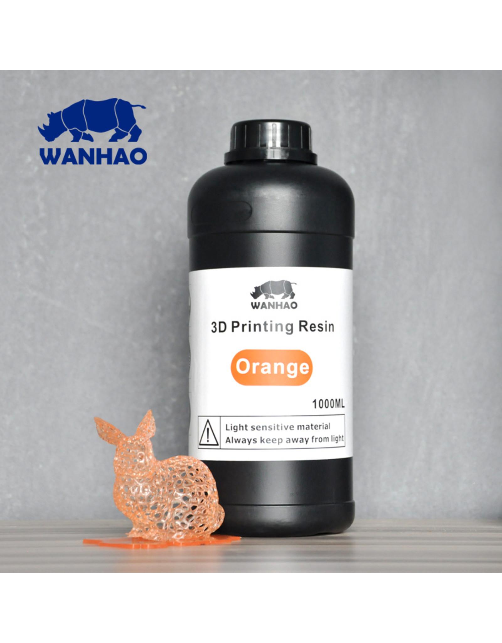 Wanhao Wanhao 3D-Printer UV Resin - 1000 ml - Orange