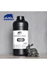 Wanhao Wanhao 3D-Printer UV Resin - 1000 ml - Zwart