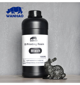 Wanhao Wanhao 3D-Printer UV Resin - 1000 ml - Zwart