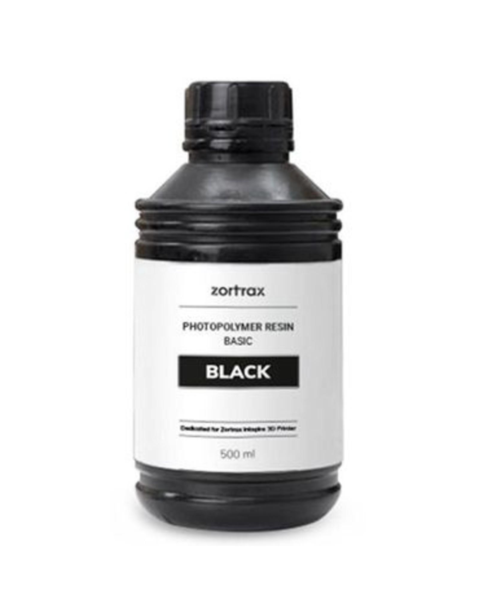 Zortrax Zortrax UV Resin - Basic - 500ml -Zwart