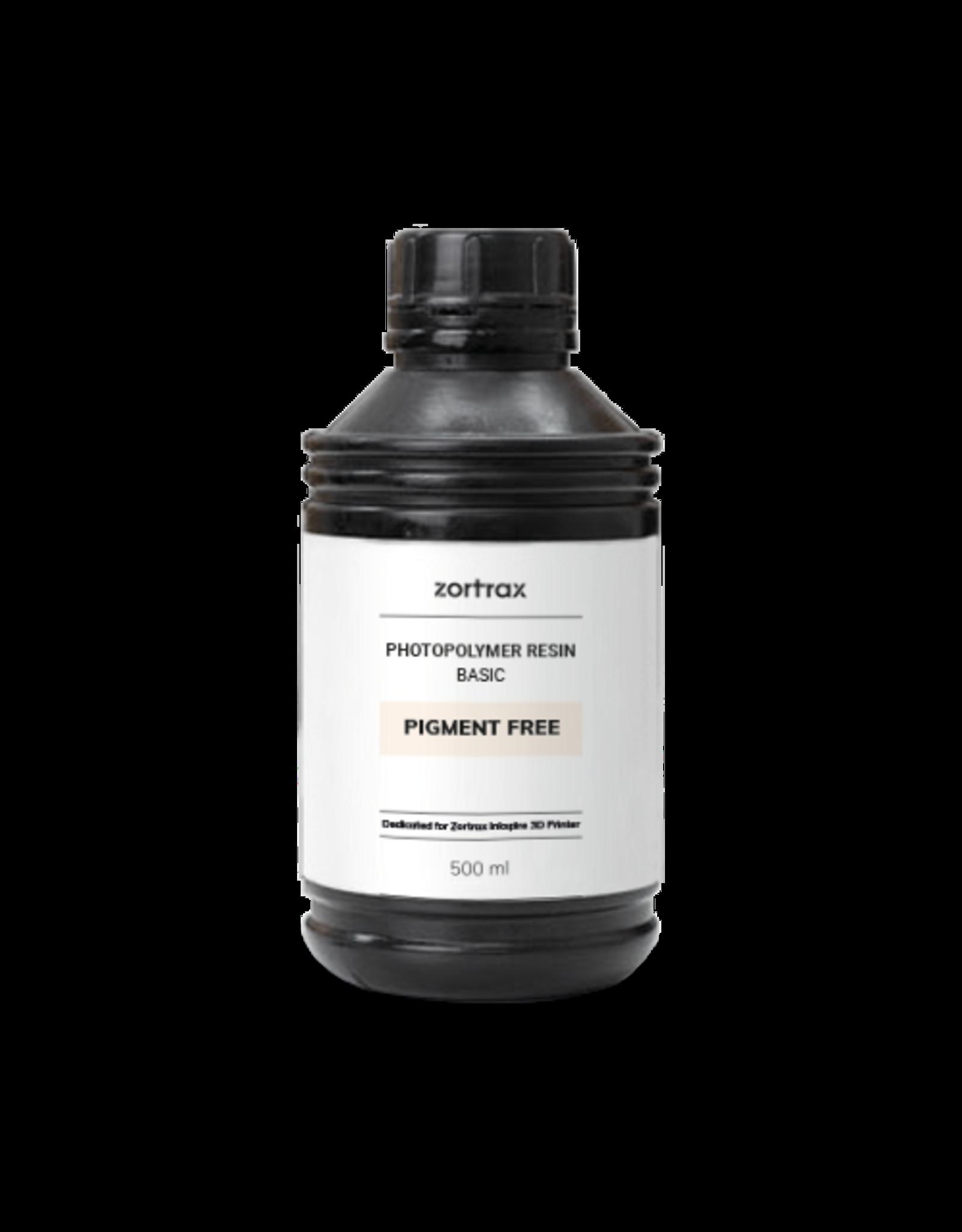 Zortrax Zortrax UV Resin - Basic - 500ml - Pigmentvrij
