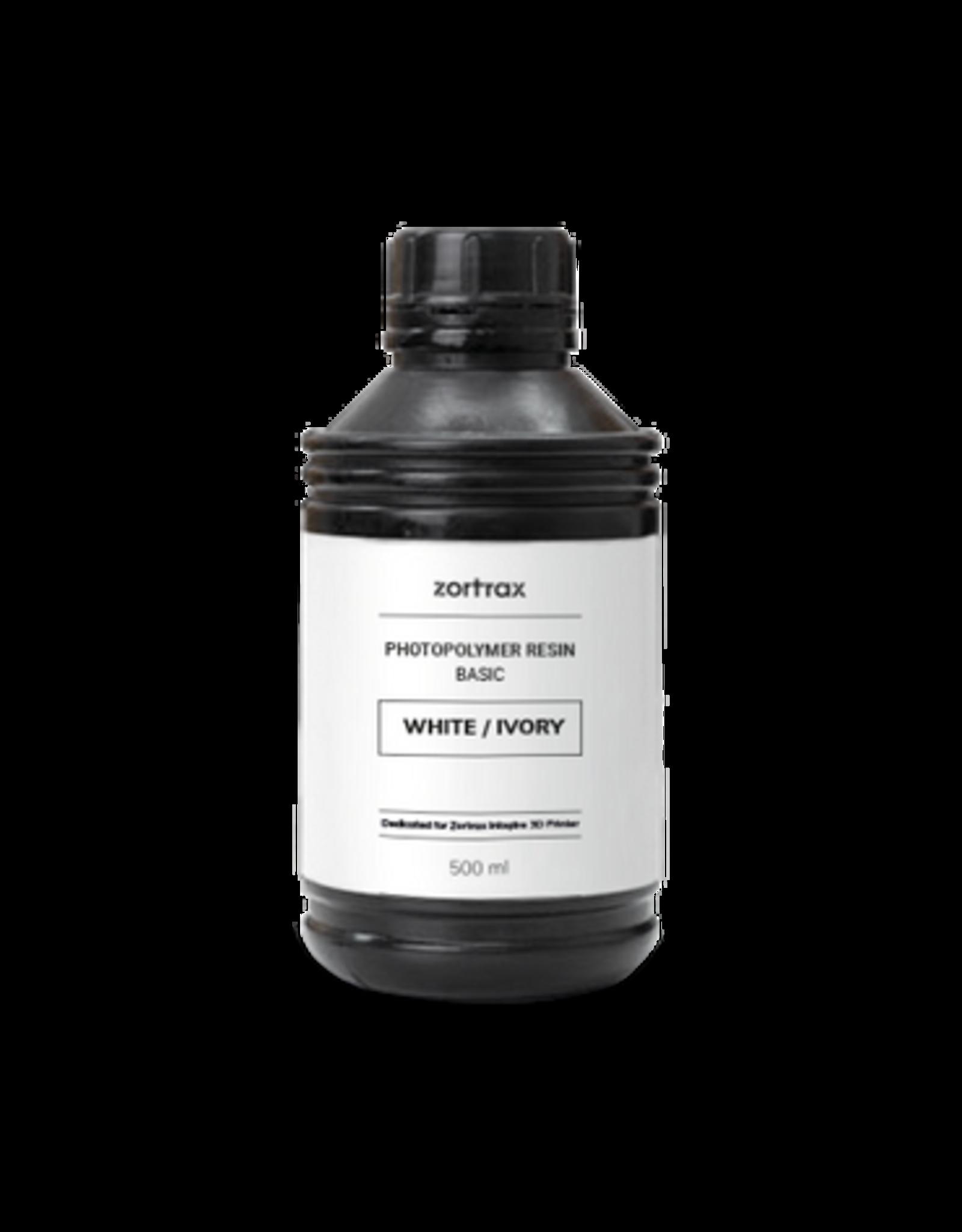 Zortrax Zortrax UV Resin - Basic - 500ml - Wit