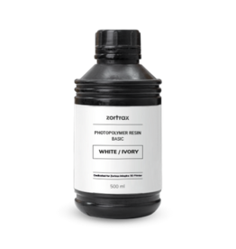 Zortrax Zortrax UV Resin - Basic - 500ml - Blanc