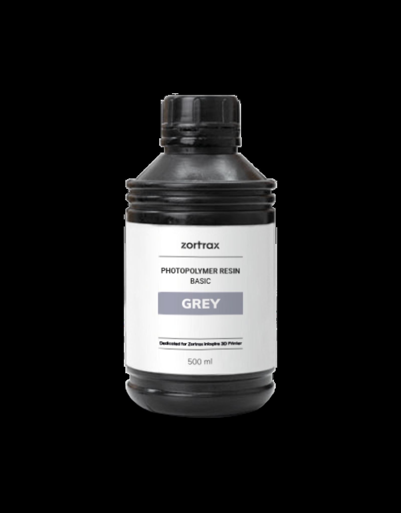 Zortrax Zortrax UV Resin - Basic - 500ml - Grijs