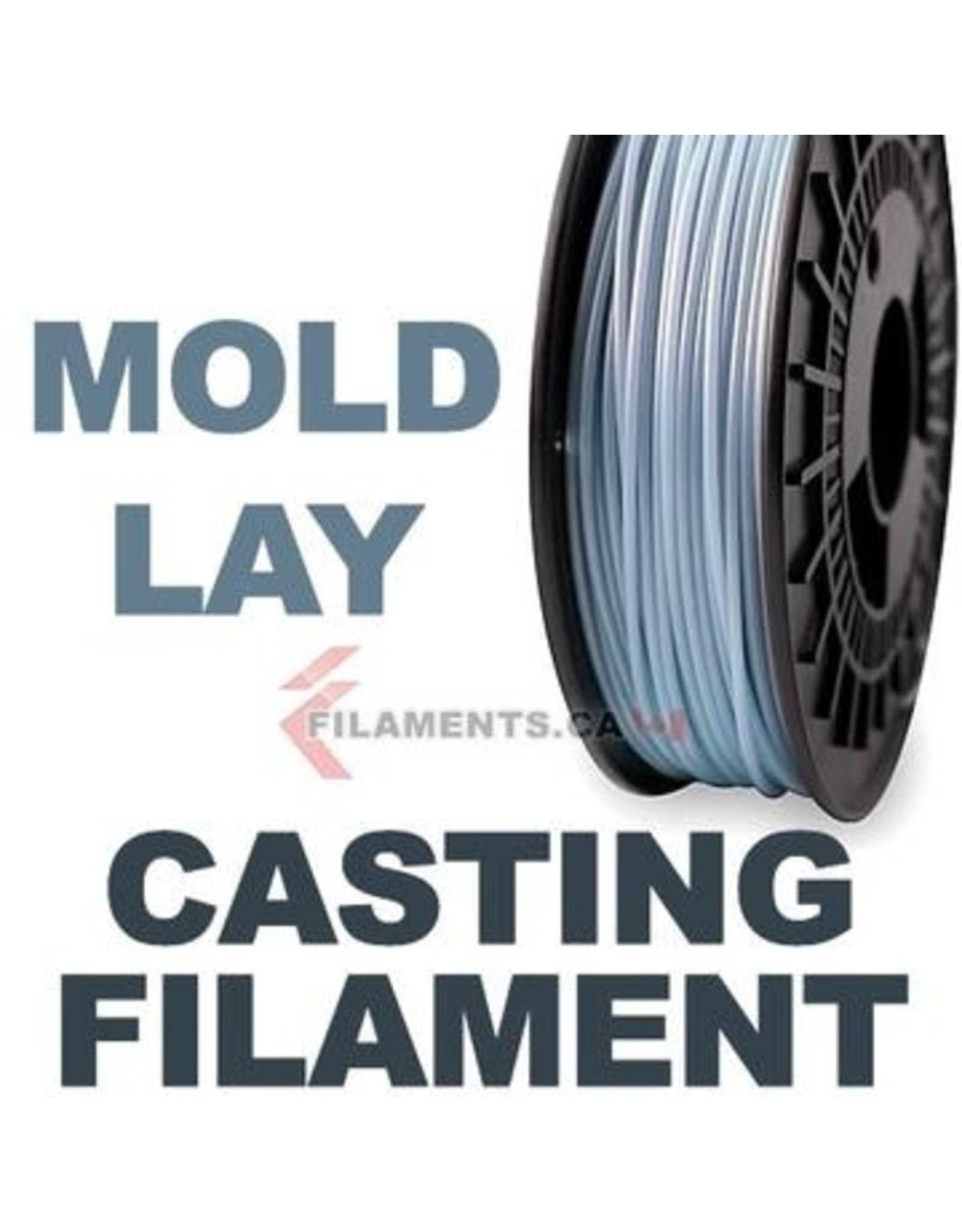 LAY Filaments Moldlay Spool 1.75mm 750 gr