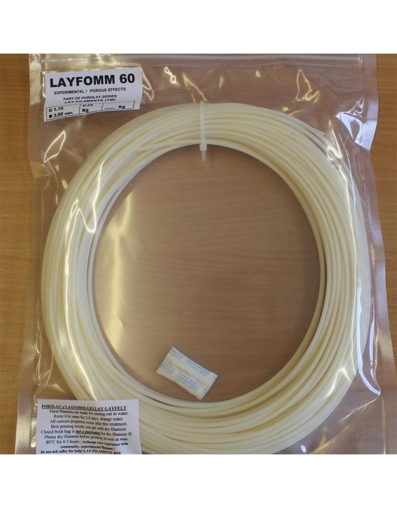 LAY Filaments LayFomm 60, 3mm, 0.25kg