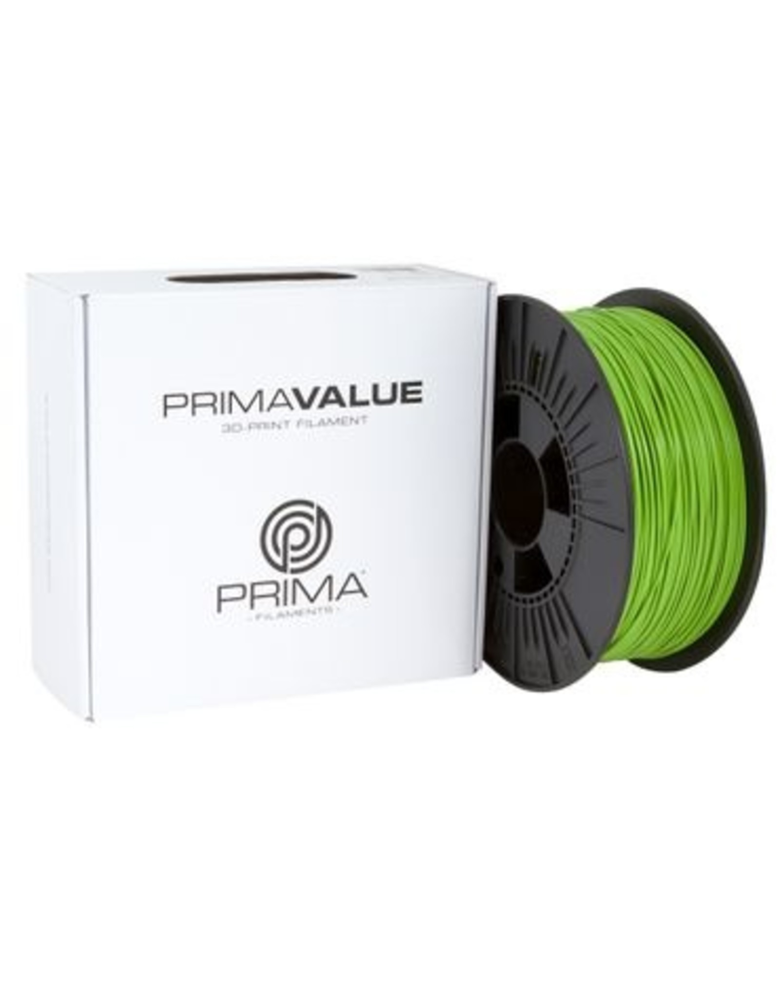 Prima PrimaValue PLA Filament 1.75mm 1 kg green