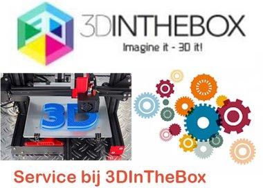 Service bij 3DInTheBox