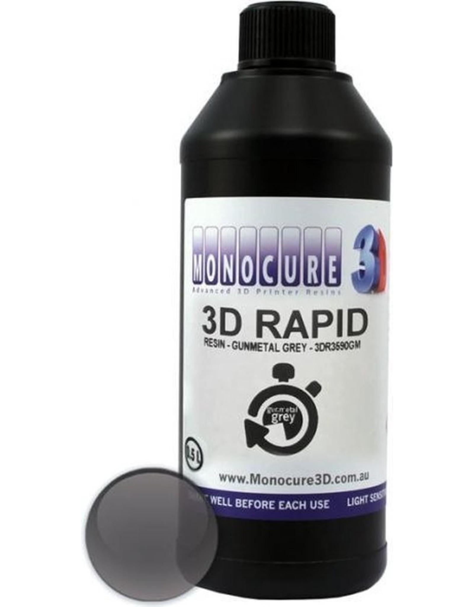 Monocure3D Monocure 3D Rapid Resin Staal Grijs
