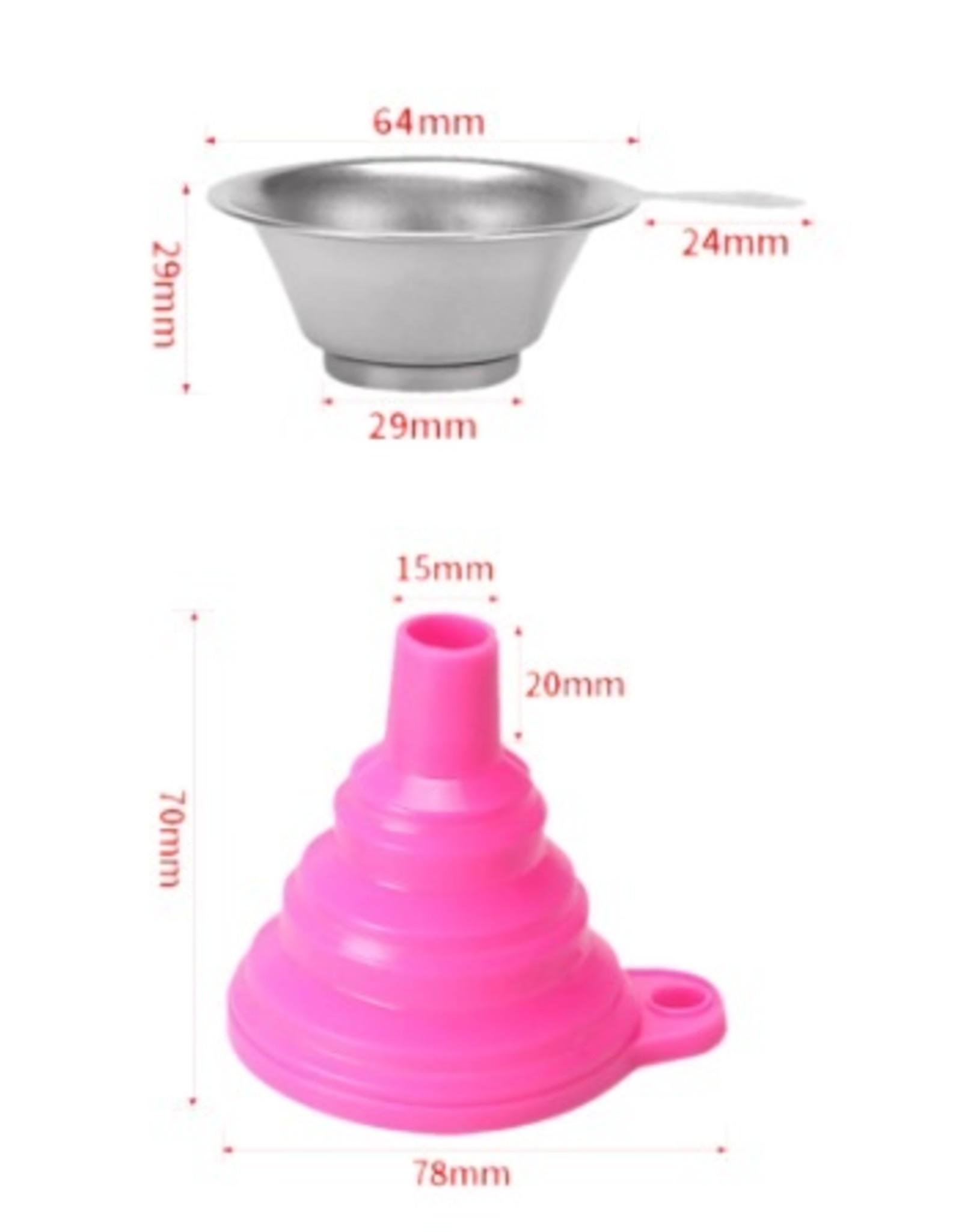 3D In The Box Resin filter met trechter