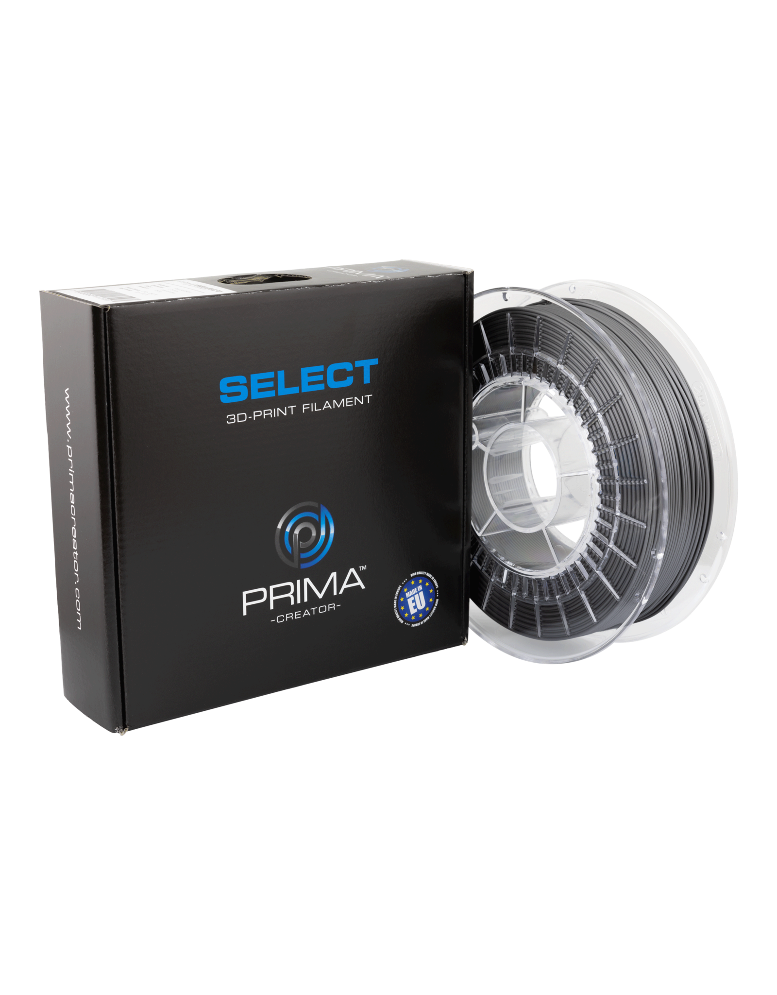 Prima PrimaSelect PLA Glossy - 1.75mm - 750 g - Industrieel grijs