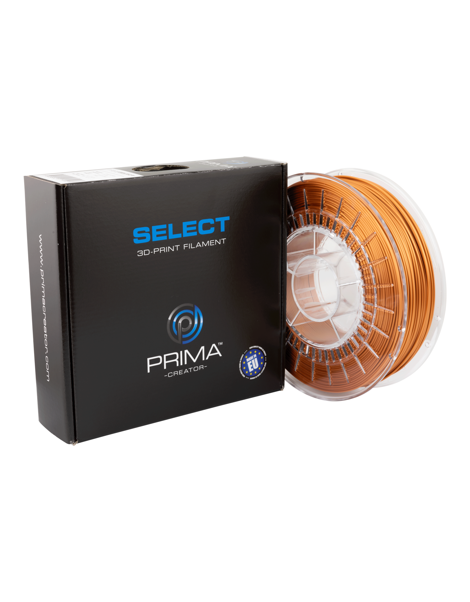 Prima PrimaSelect PLA Glossy - 1.75mm - 750 g  - Cuivre antique