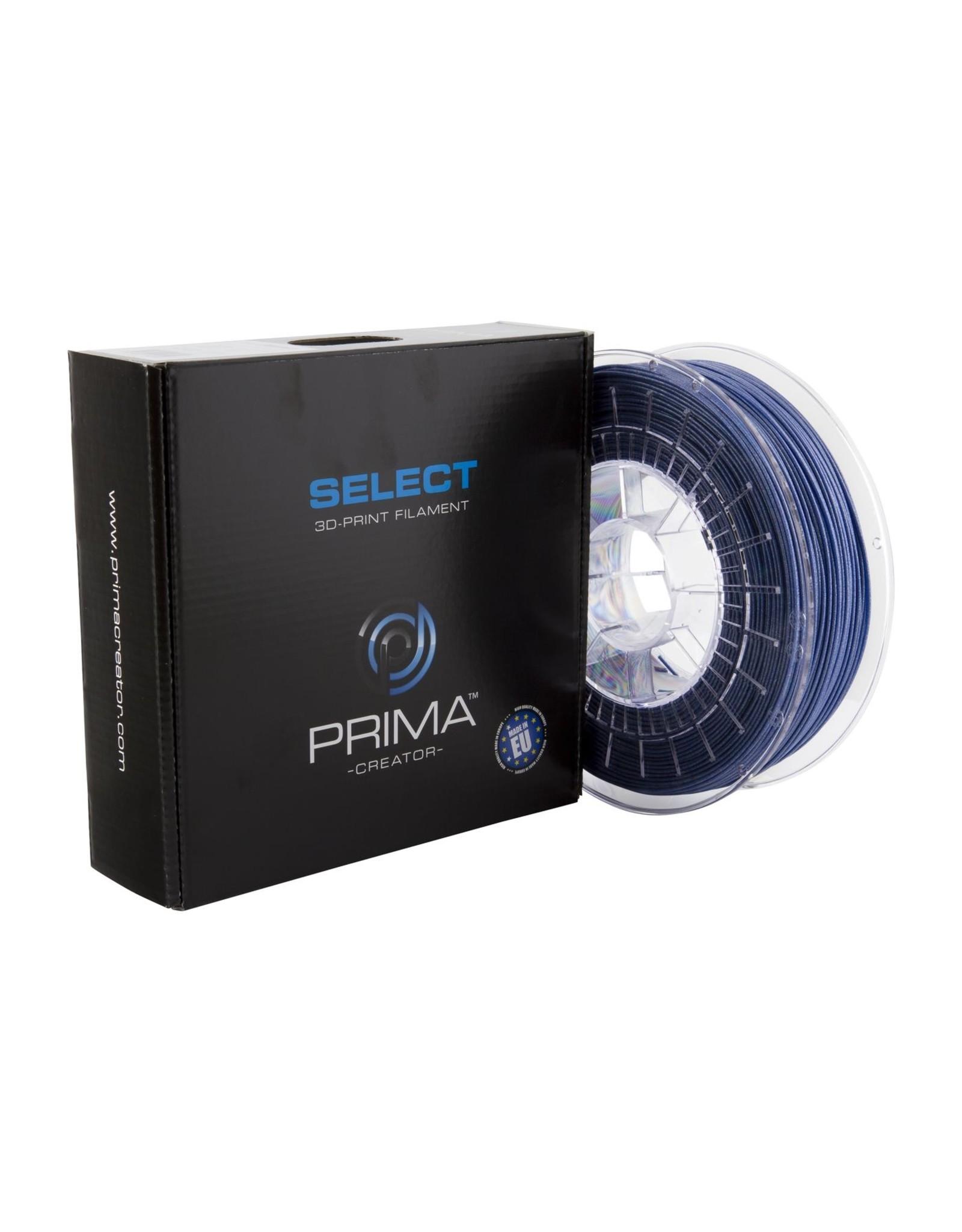 Prima PrimaSelect PLA 1.75mm - 750gr Bleu métallique