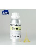 Wanhao Wanhao Résine UV pour imprimante 3D lavable à l'eau - 500ml - Clear