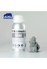 Wanhao Wanhao 3D-Printer UV Resin Water Washable - 500ml -  Grey