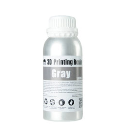 Wanhao Wanhao 3D-Printer UV Resin Water Washable - 500ml - Grey