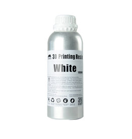 Wanhao Wanhao 3D-Printer UV Resin Water Afwasbaar - 1000 ml - Wit