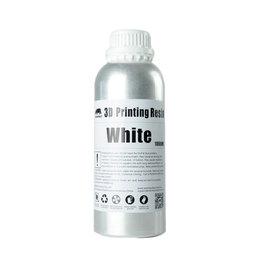 Wanhao Wanhao Résine UV pour imprimante 3D lavable à l'eau - 1000 ml - Blanc