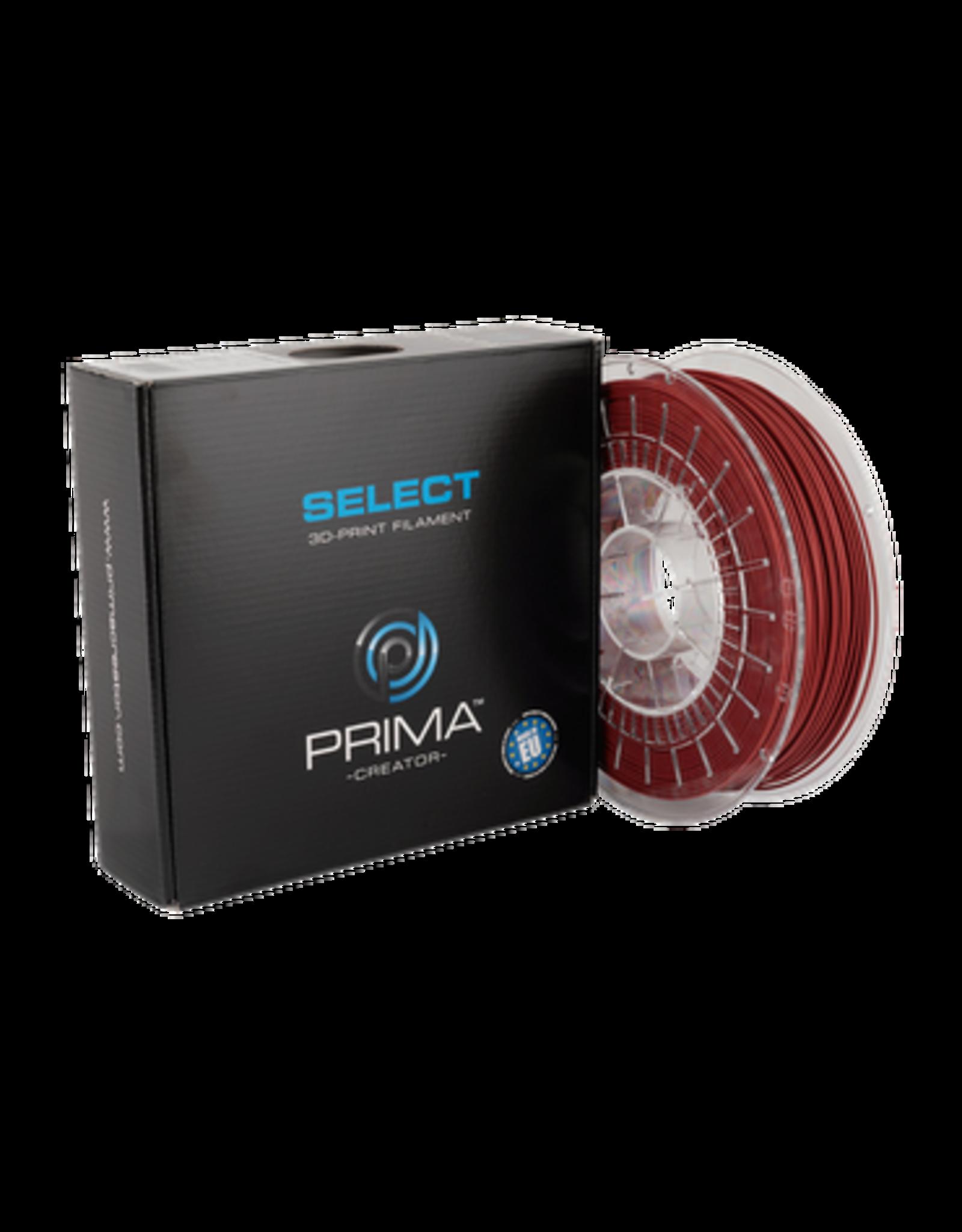 Prima PrimaSelect PLA Mat 1.75mm - 750gr Rood