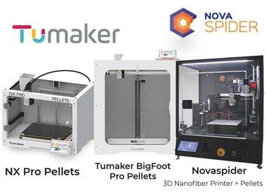 Gespecialiseerde 3D-printers