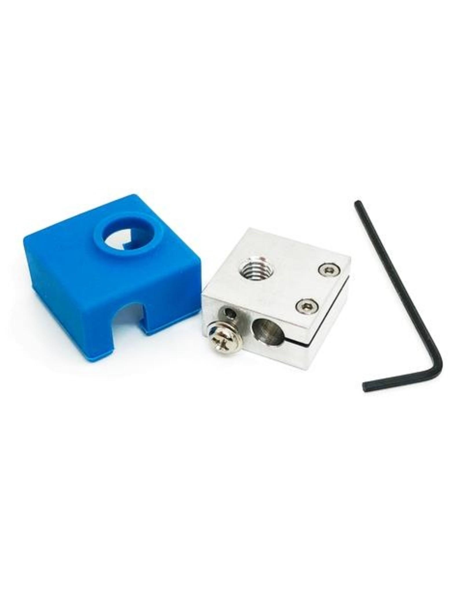 Micro Swiss Verwarmingsblok upgrade met siliconen sok voor CR10 / Ender 2 en 3