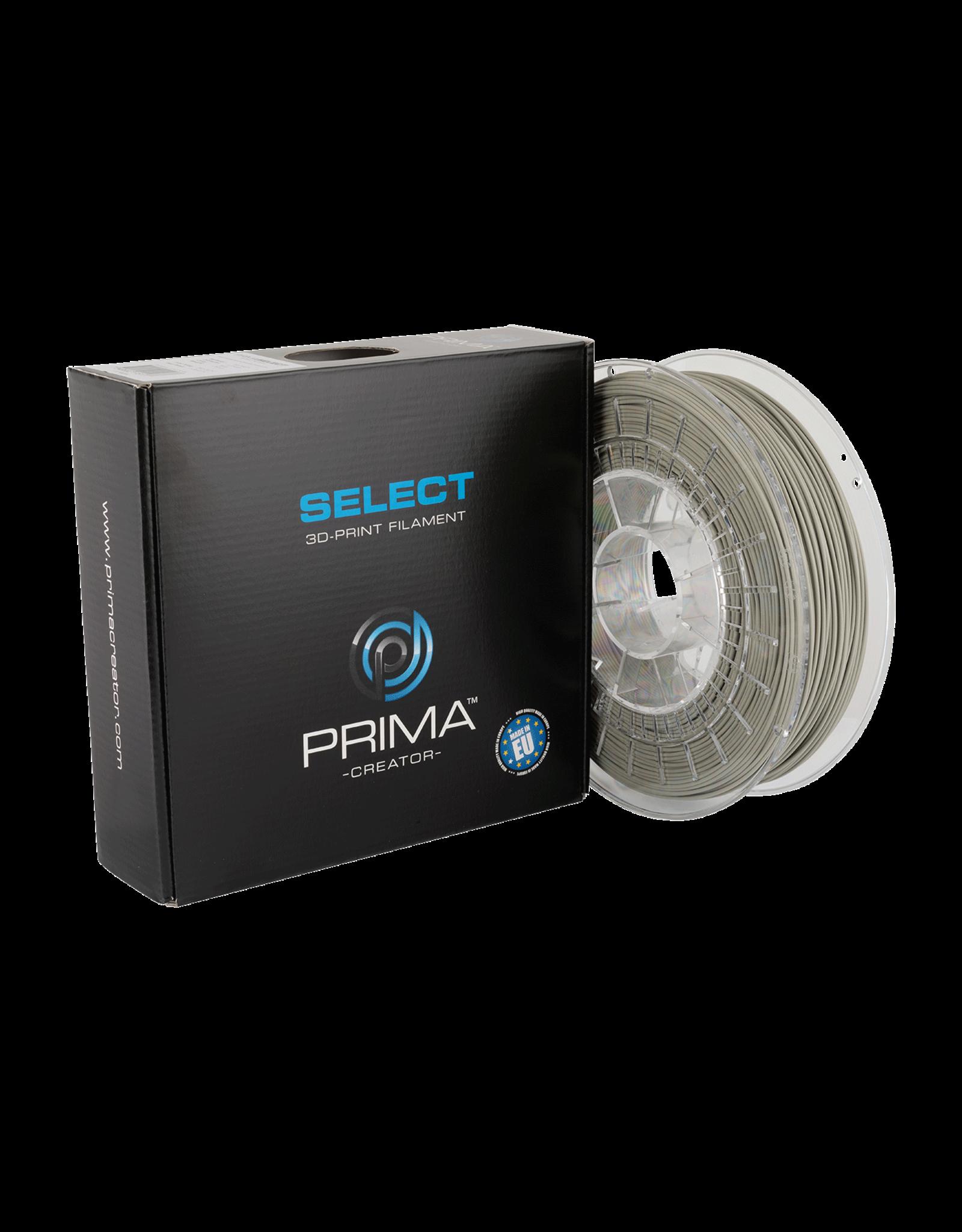 Prima PrimaSelect Matt PLA 1.75mm - 750gr -  Mosgrijs