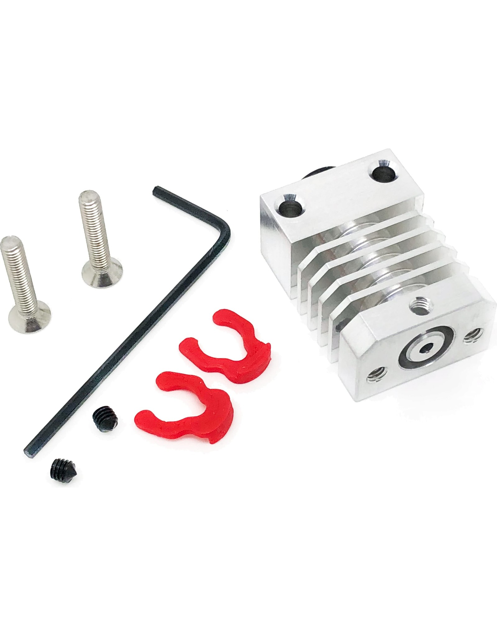 Micro Swiss Replacement Cooling Block for Micro Swiss All Metal Hotend Kit for CR-10 Printer
