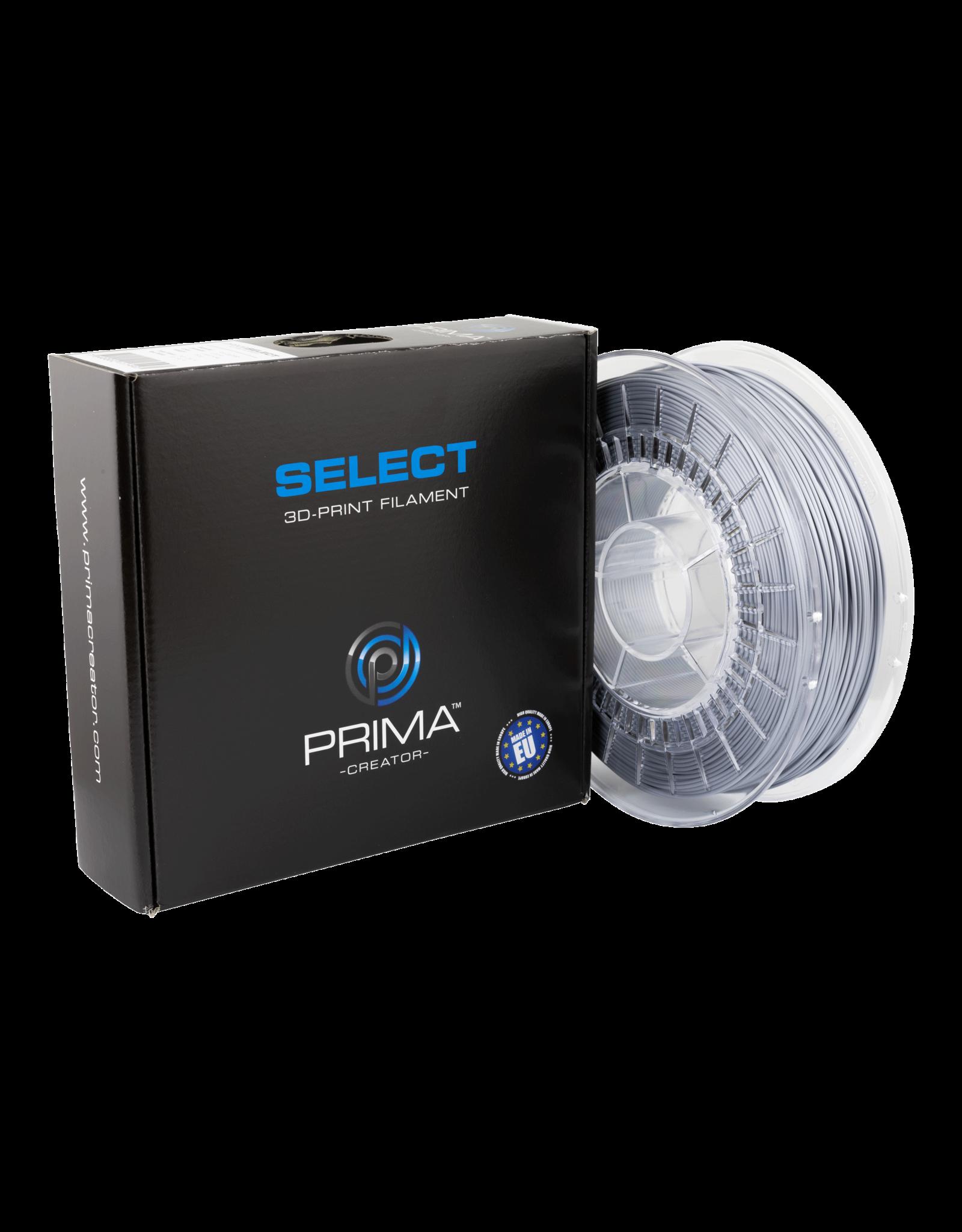Prima PrimaSelect PLA Glossy - 1.75mm - 750 g  -  Argent liquide